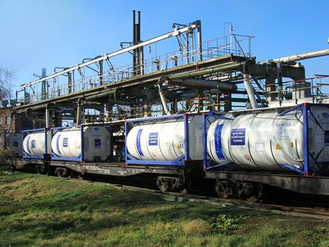 EXSIF Worldwide Inc Russia - Tank Container Leasing on Railroad_Railway