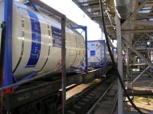 Пищевые железнодорожные цистерны