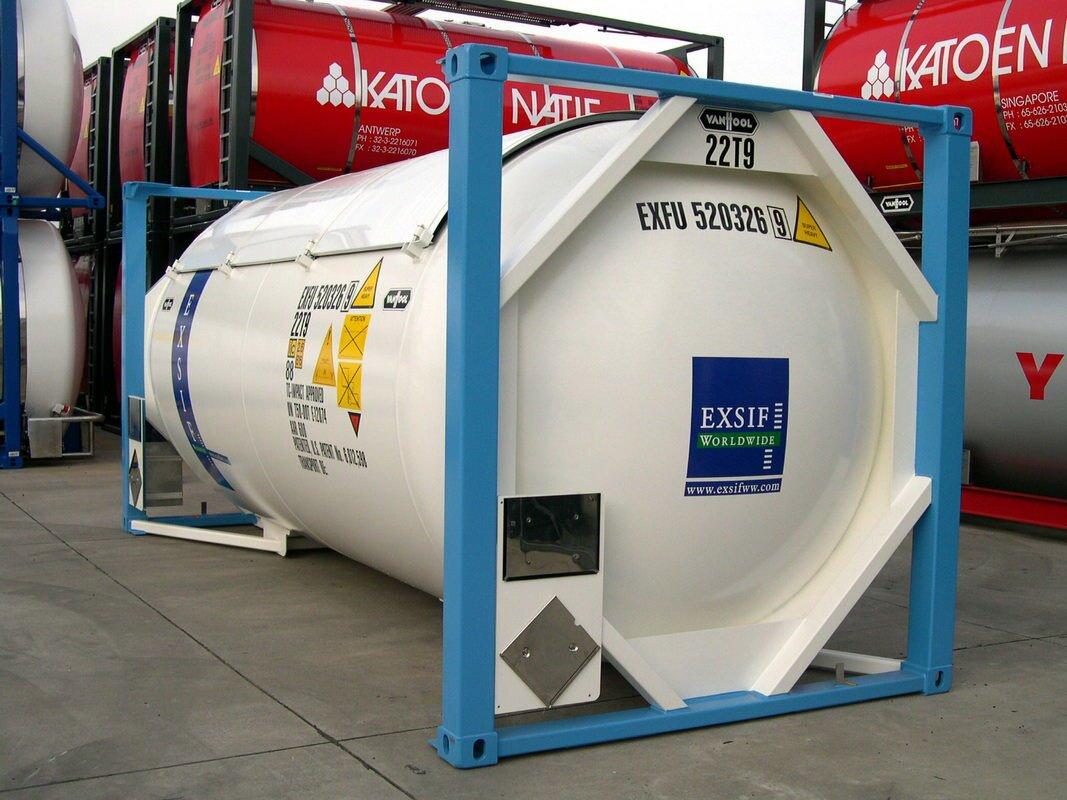 Танк контейнер для спирта