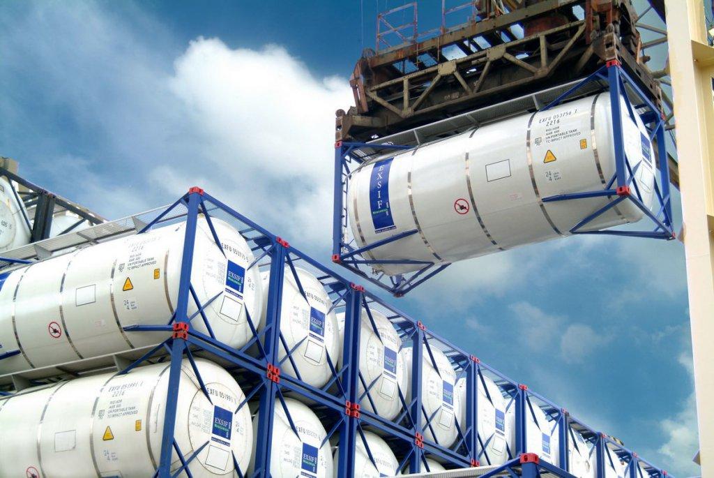 Танк-контейнеры для перевозки продуктов нефтехимии
