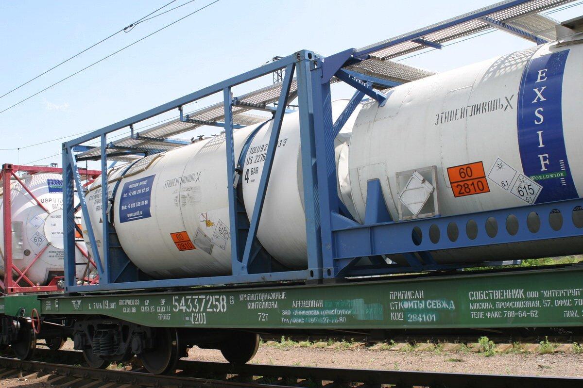 Перевозка химических грузов в танк-контейнерах