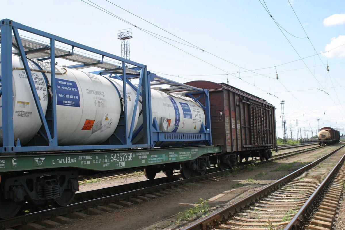 Железнодорожные цистерны для масла
