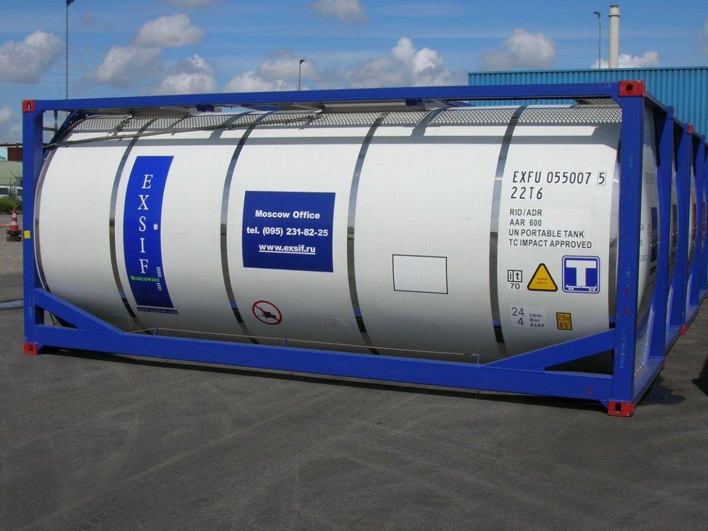 Танк-контейнеры 20 футов
