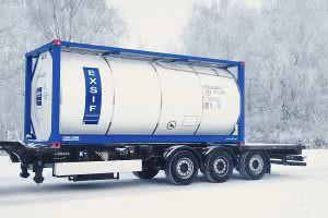 Перевозка кислоты в цистернах