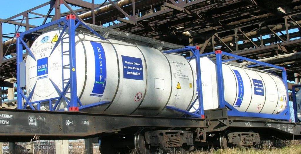 Железнодорожные перевозки грузов в танк-контейнерах