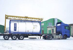 Перевозка масла автомобильным транспортом