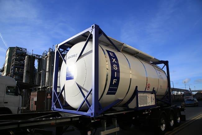 Танк-контейнер для перевозки нефтепродуктов